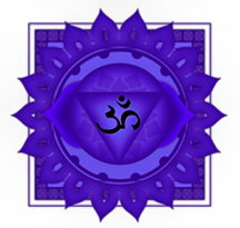 Purple Crown Chakra Symbol