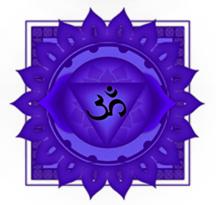 Purple Crown Chakra Symbol