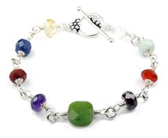 B-7008B-wire-wrap-silver-chakra-bracelets